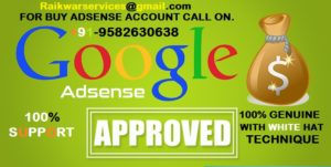Buy Google Adsense Accounts